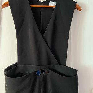 Veronika Maine black jumpsuit size 12